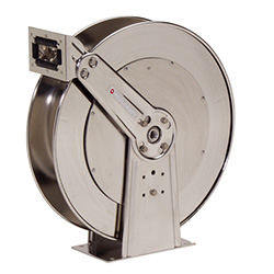 83000 OLS-S Stainless Steal Water Hose Reel