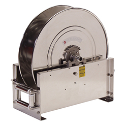 D9300 OLS-S Stainless Steal Water Hose Reel